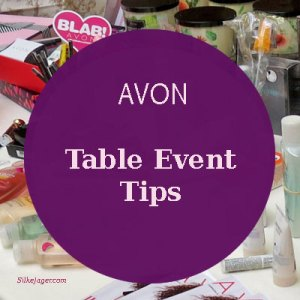 Table Tips for Avon Events