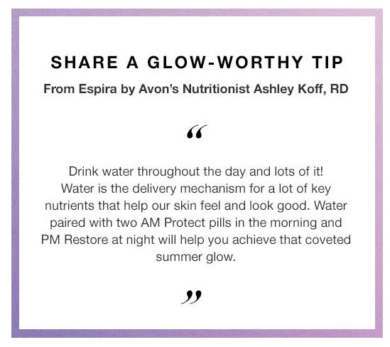 Beauty Tip From Ashley Koff, RD