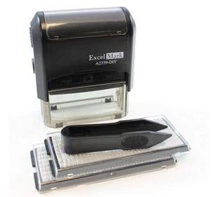 Brochure stamper to save money