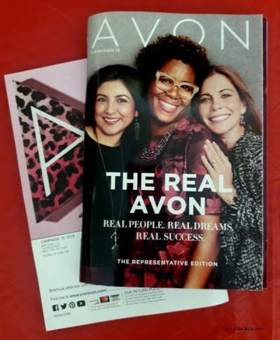 Avon campaign brochures are part of a successful business strategy.