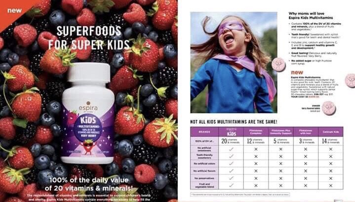 Avon kids multivitamins by Espira