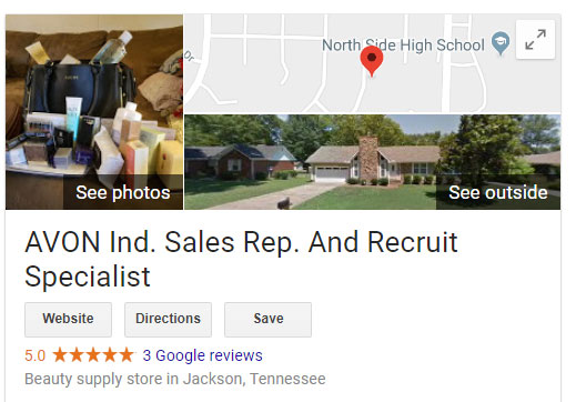 Google Business Listing, Jackson, TN