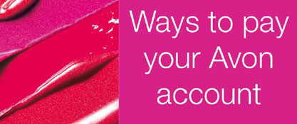 Different ways how to pay Avon