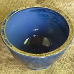 Keramik-Schale - blau