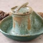 Keramik-Dosen-Schale