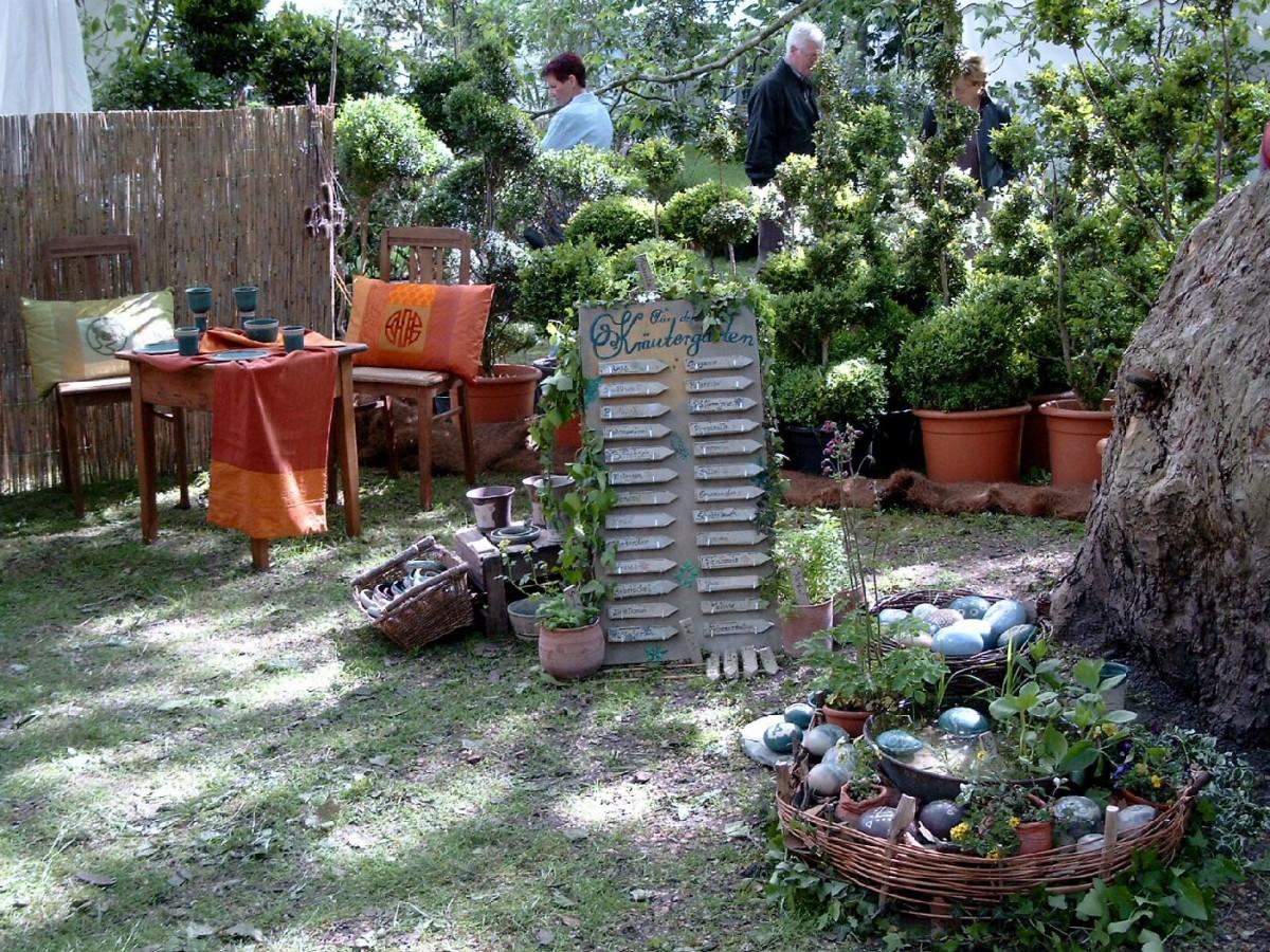2004: Gartenfestival Herrenhausen Silkeramik