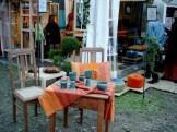 2004: Silkeramik beim Gartenfestival Herrenhausen