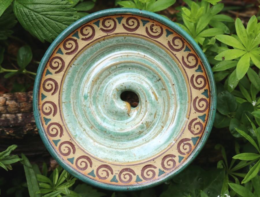 Seifenschale mit Spiralen