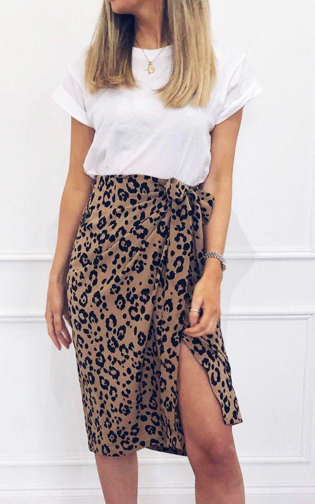 Pretty Lavish Midi skirt exclusive to SilkFred