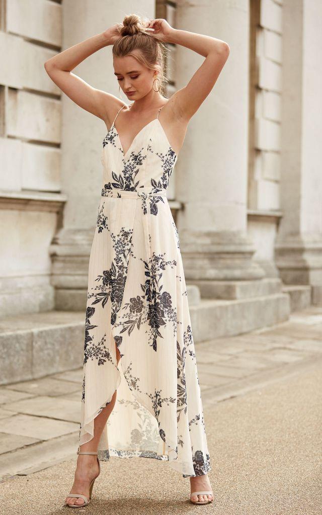 sale floral maxi dress