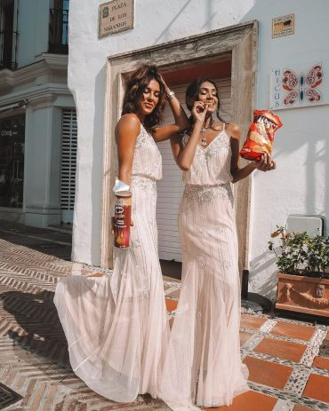 bloat-friendly wedding guest dresses