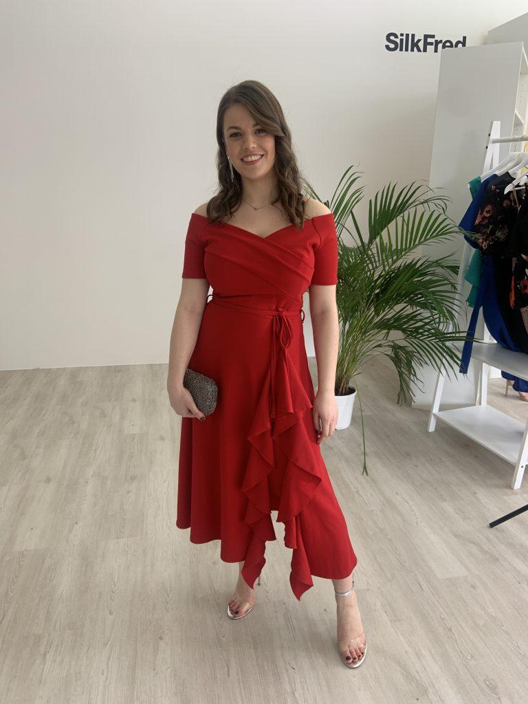Red Wedding Guest Dress