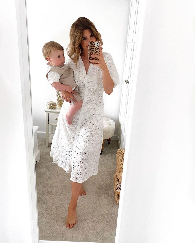 kirsty-world-breastfeeding-week-broderie-shirt-dress
