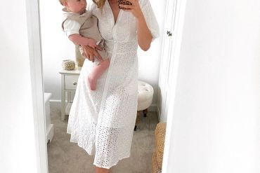 kirsty-world-breastfeeding-week-broderie-shirt-dress