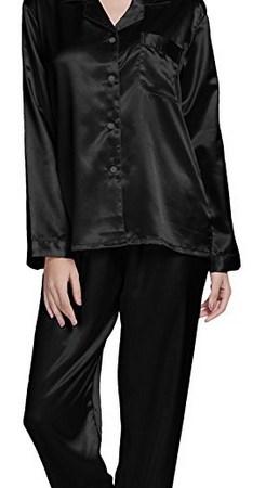 350cab6318 TONY   CANDICE Women s Classic Satin Pajama Set