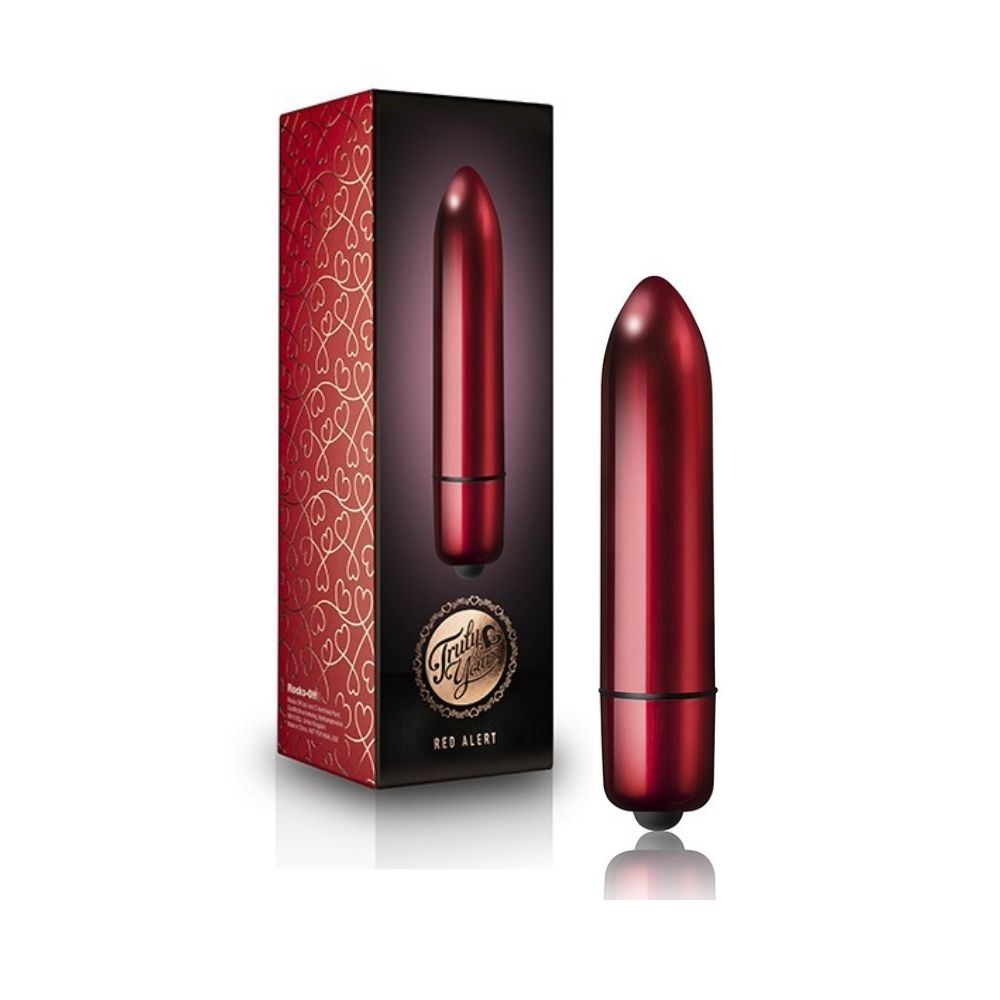 Rocks-Off Truly Yours 120mm Vibrating Bullet - Red Alert