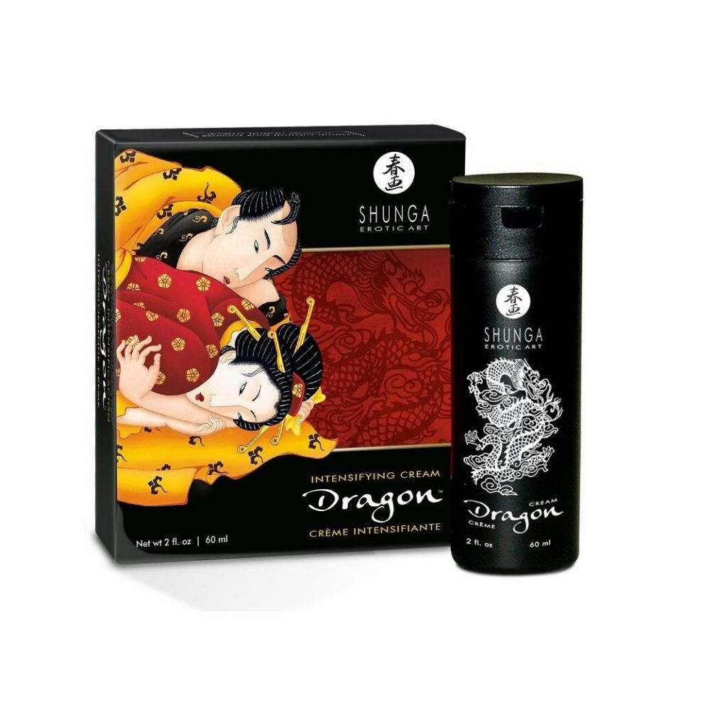 Shunga Dragon Virility Cream For Men - 60ml