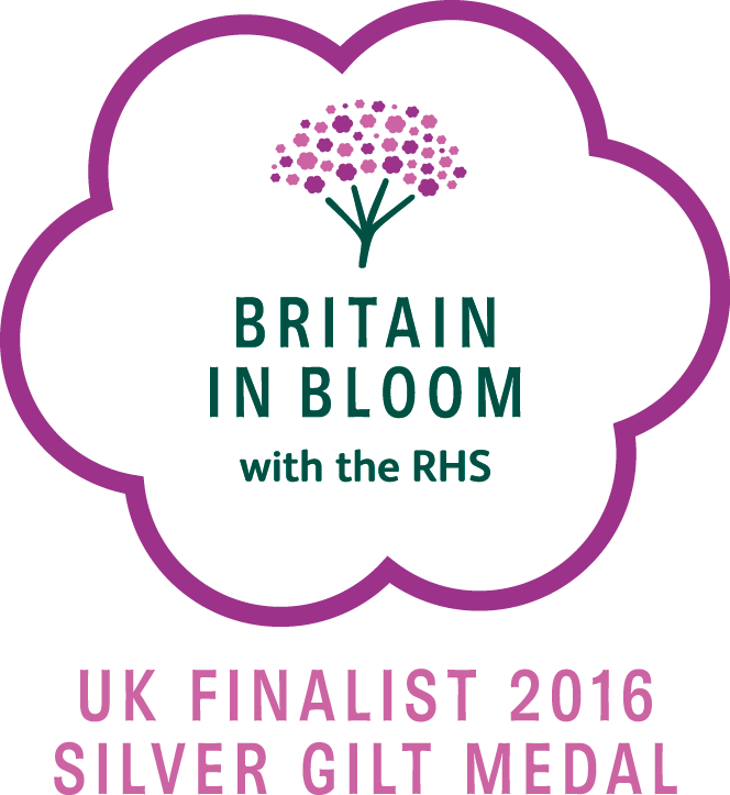 britain in bloom silver gilt medal