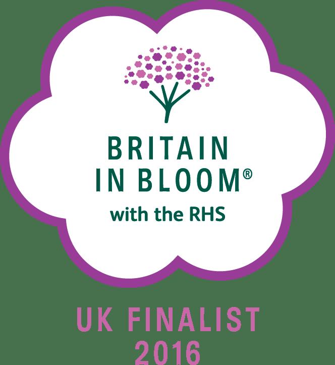 britain in bloom finalist medal