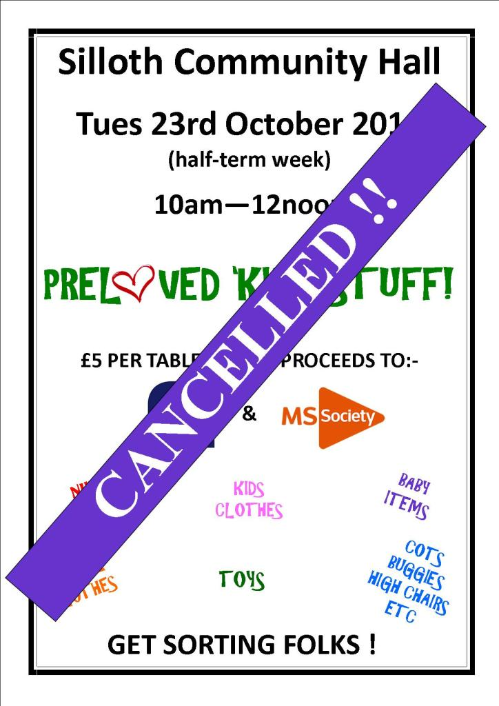 event cancellation poster
