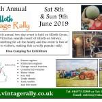 Vintage rally flyer 2019