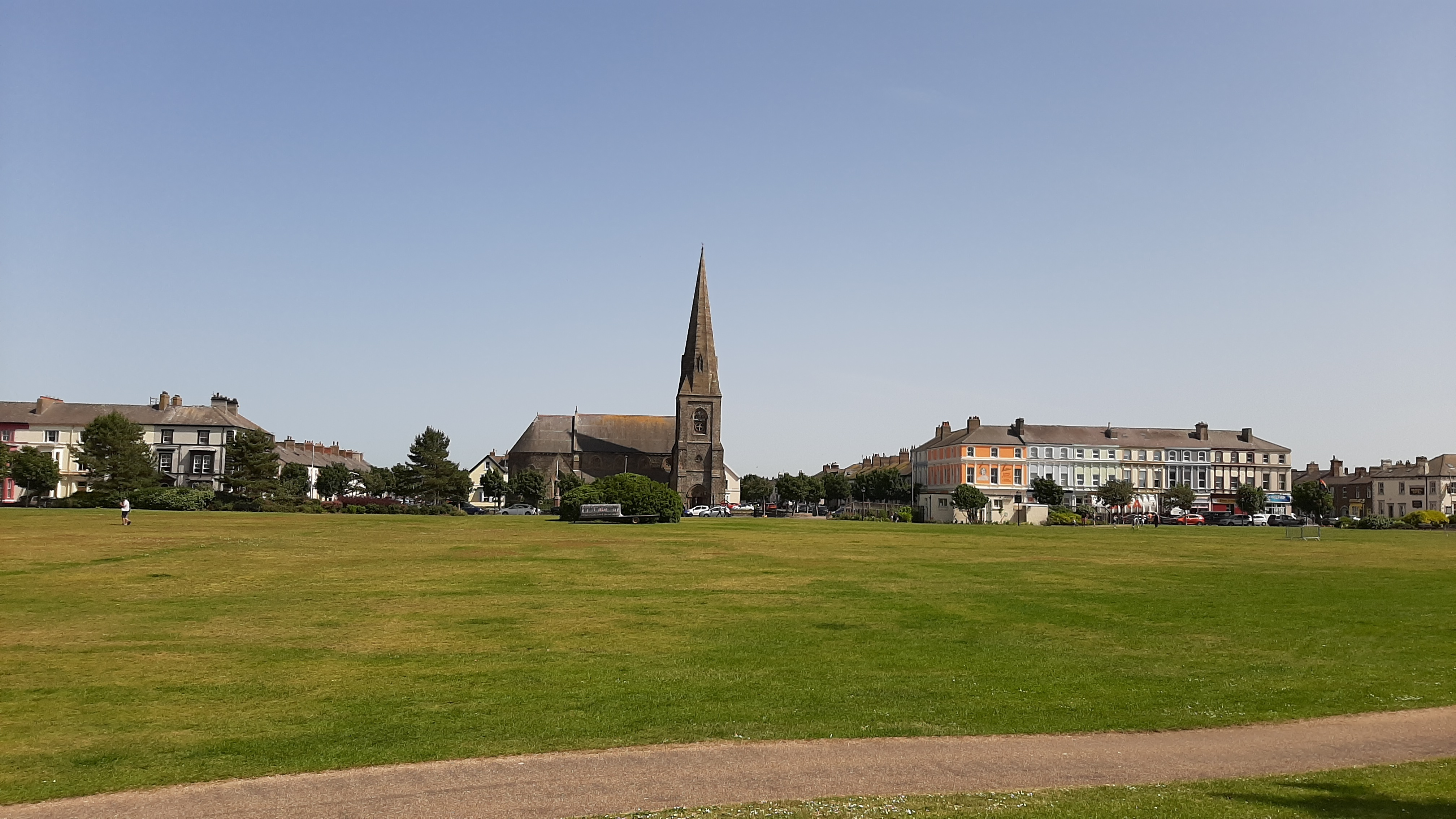 Silloth celebrates as Silloth Green wins its eighth Green Flag Award