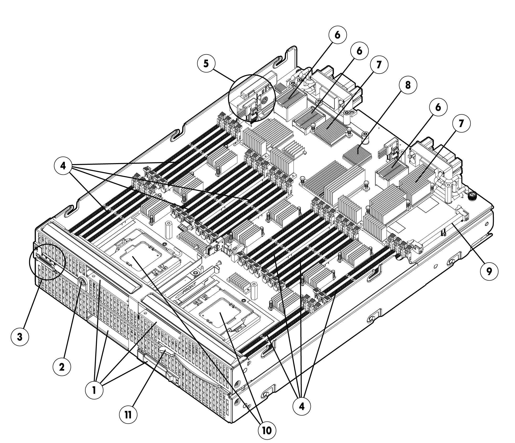 Hp Proliant Bl680c G7 Quickspecs