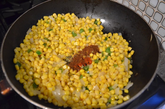 adding spice