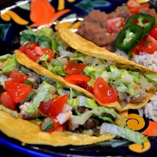 Cauliflower & Mushroom Tacos