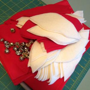 Going to jump in and sew up a fun poinsettiapillowhellip