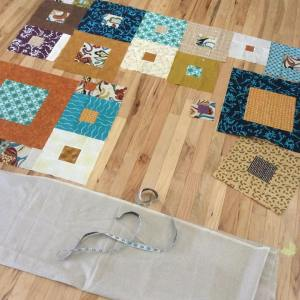 Progress on my weddingquiltproject today8230what do you think?? Happy Wednesdayhellip