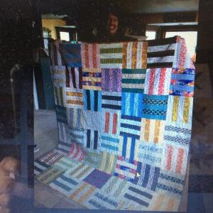 My finishitfriday post today featured my alisonglassbirthdayquilt which was ahellip