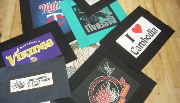 t-shirt quilt update