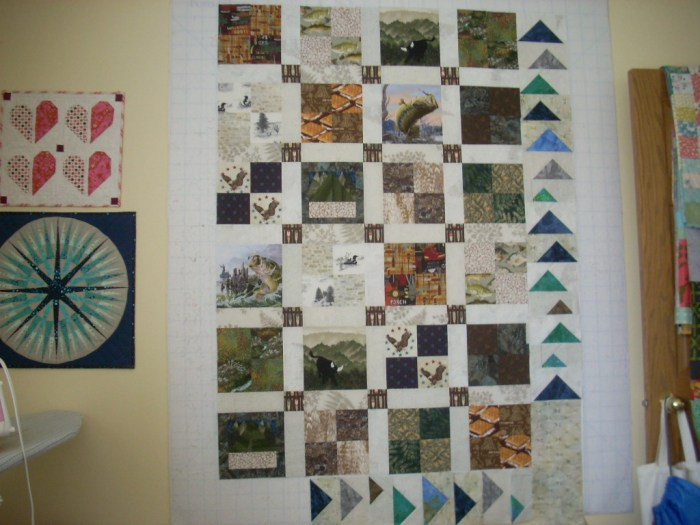 eagle scout quilt top