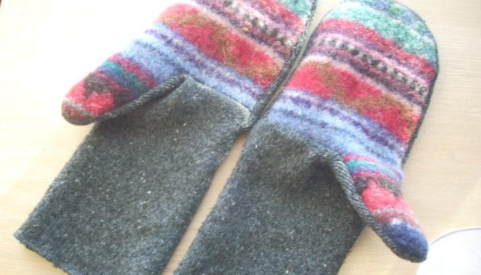making mittens