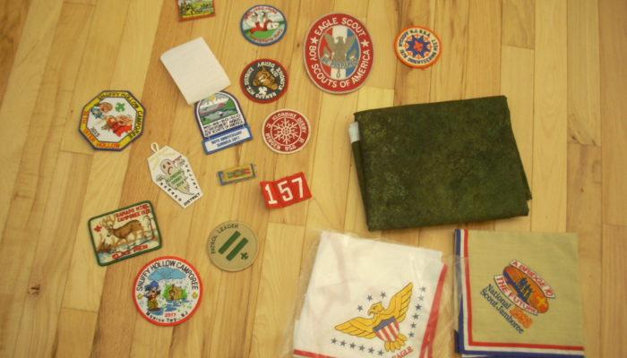 boy scout quilt project