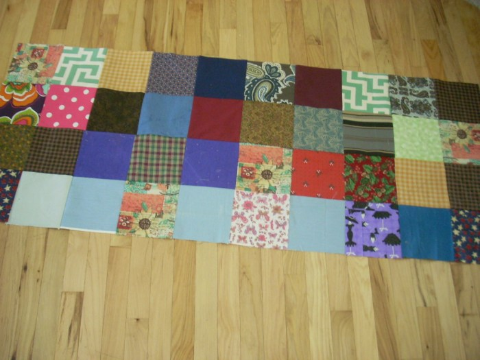 charity quilt progress