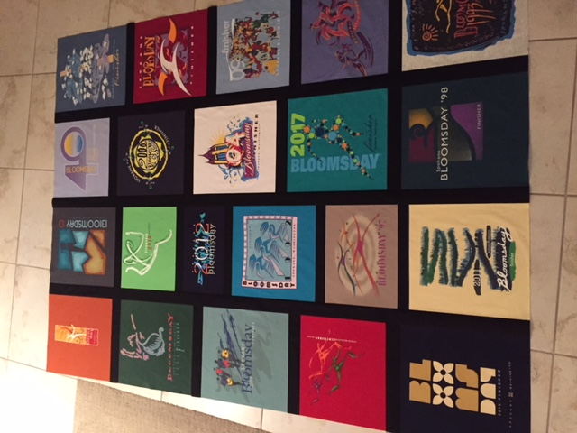 mom's t-shirt quilt