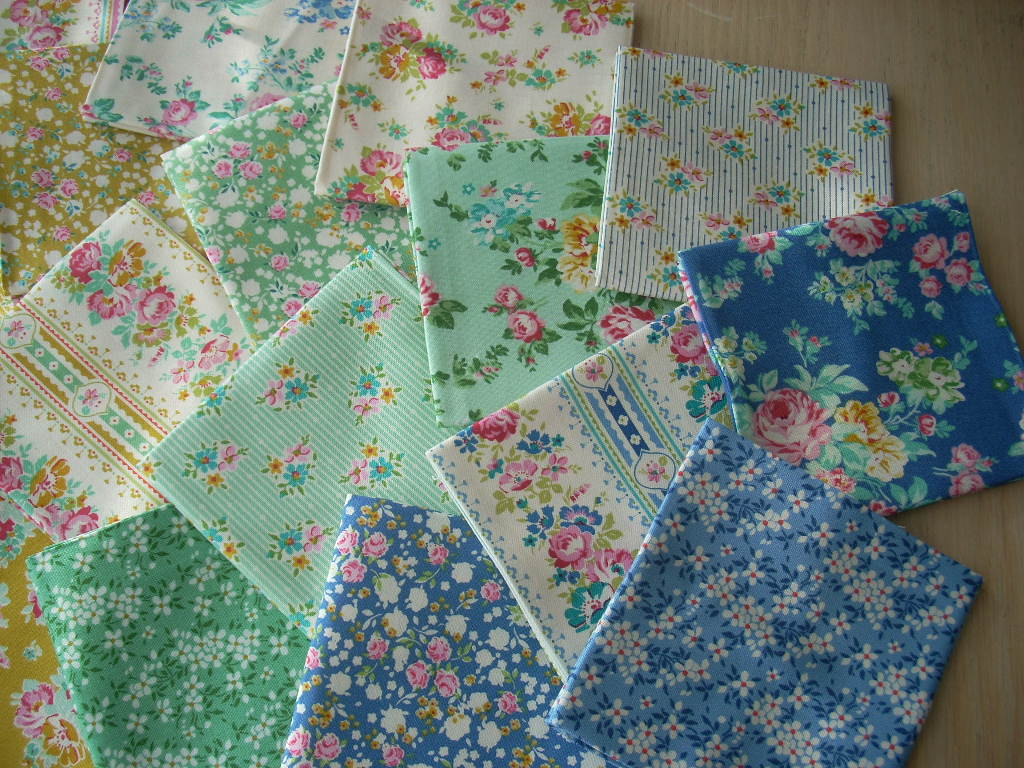 tilda apple butter fabric