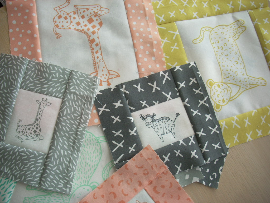 savannah baby quilt project