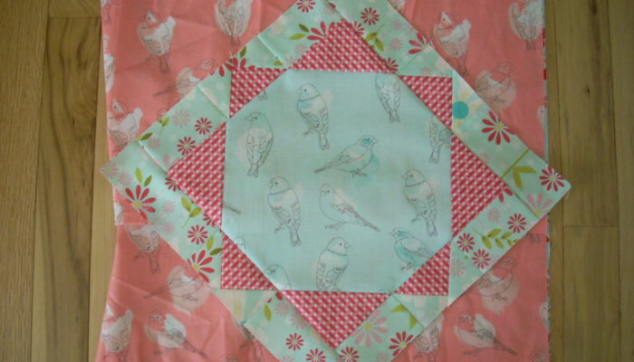 bird pillow side triangles