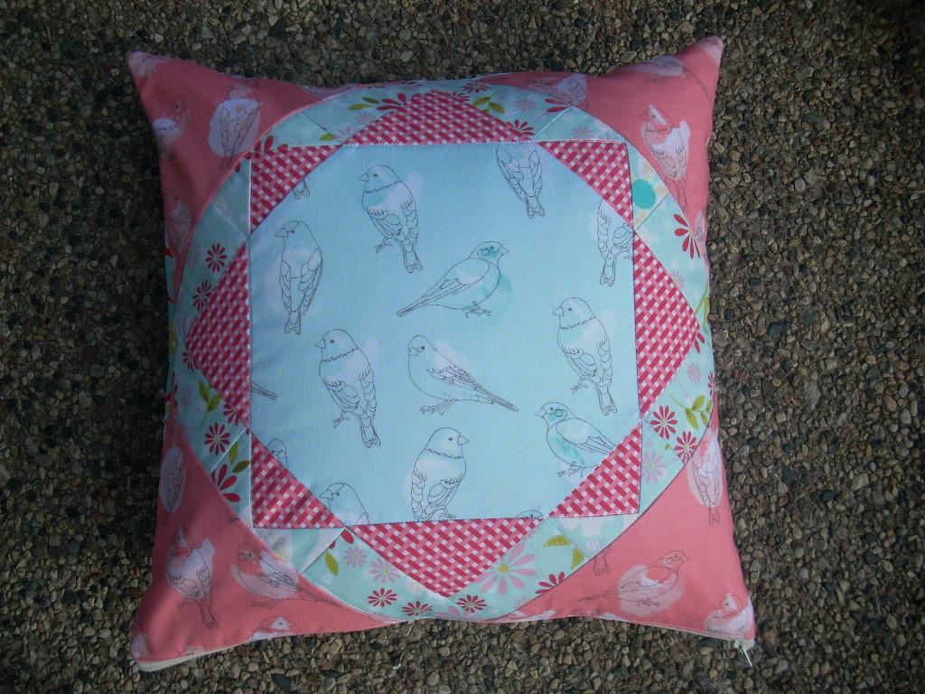 bird pillow project