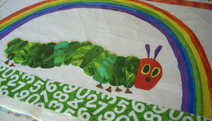 finishing another caterpillar