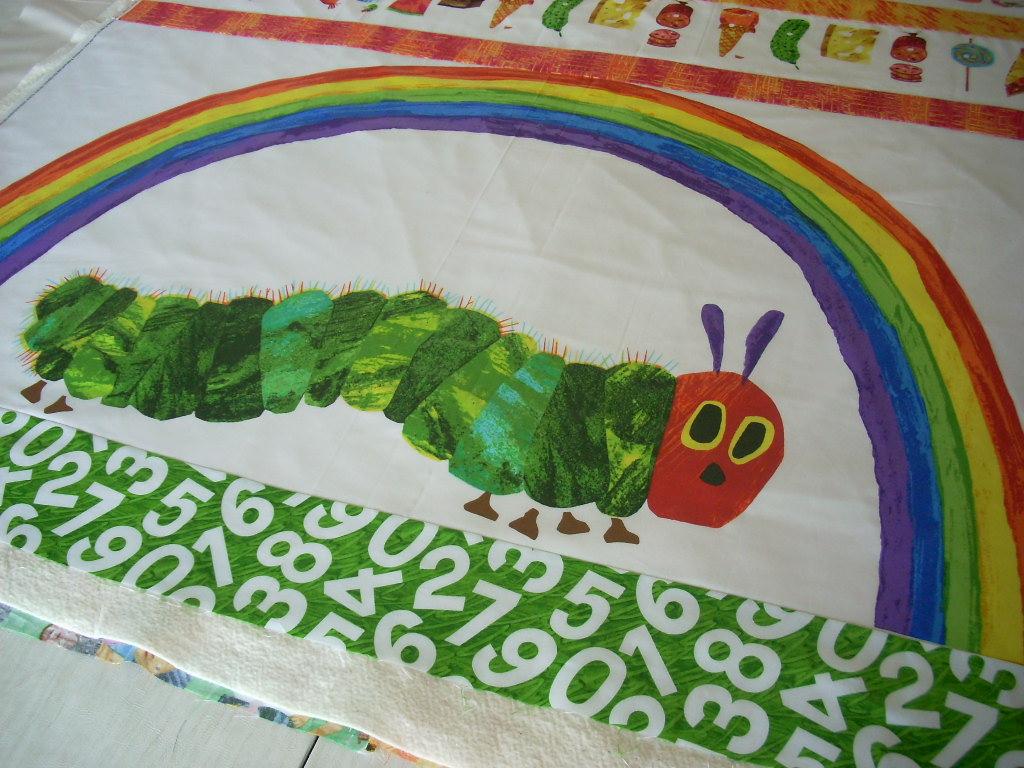 finishing another caterpillar