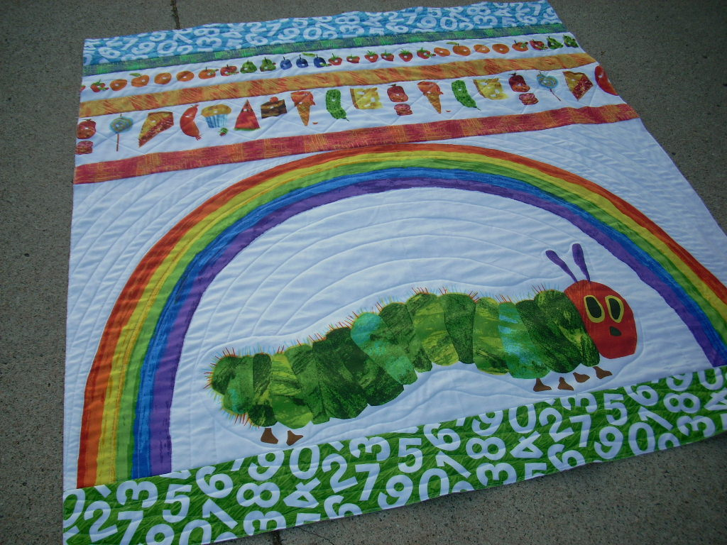finished caterpillar