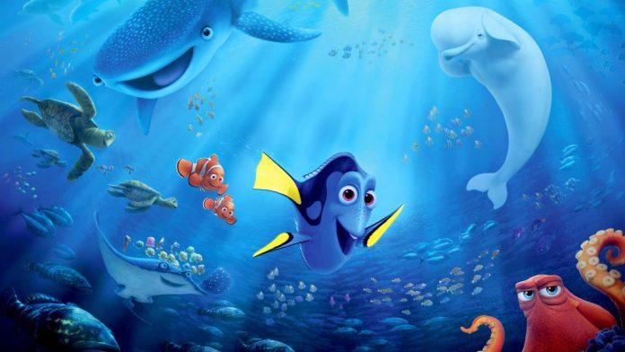 """Immagine dal film """"Alla ricerca di Dory"""", Migliori film d'animazione 2016"""