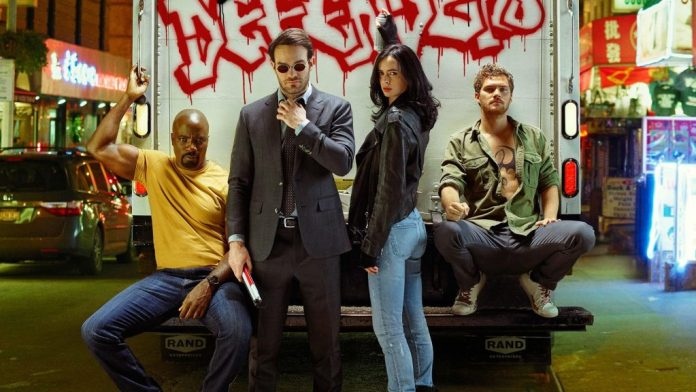 Migliori serie TV sui supereroi Marvel: The Defenders