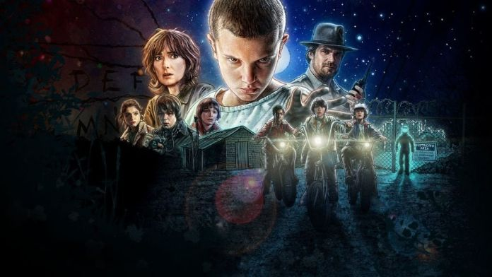 Stranger Things 1 poster