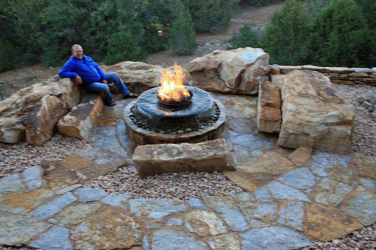 Natural Stone Walkways | Stone Patios | Colorado | Denver on Rocks For Backyard  id=54634