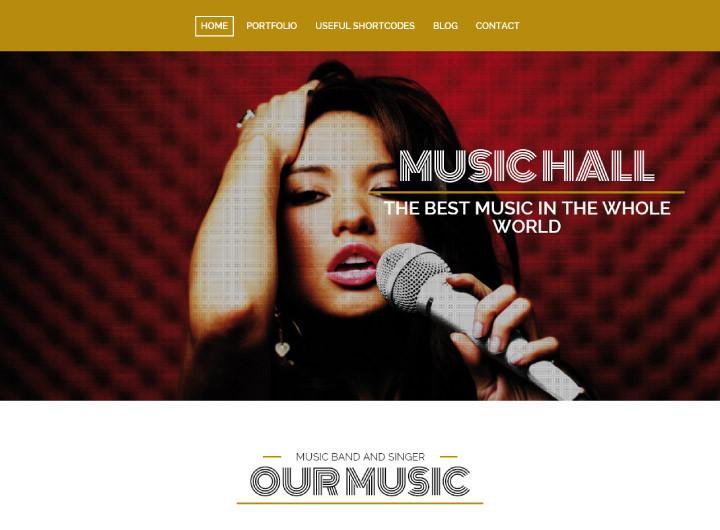 wordpress-theme-music